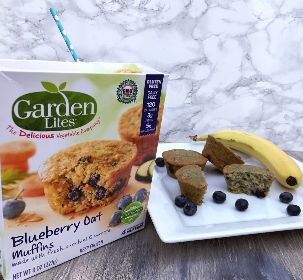 Garden Lites- Blueberry Muffin + Blueberry Smoothie