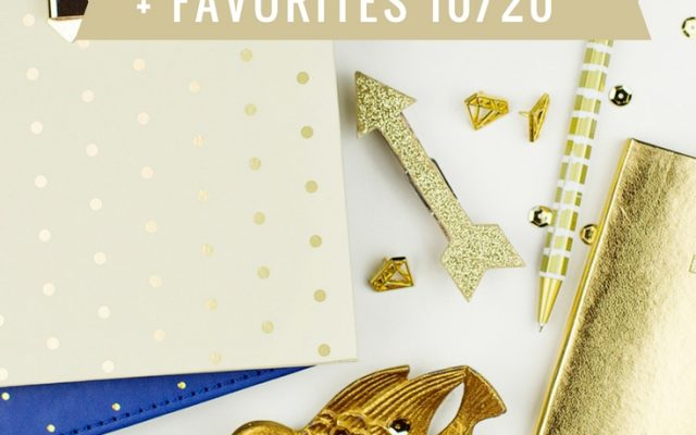 Five on Friday + Favorites 10/20