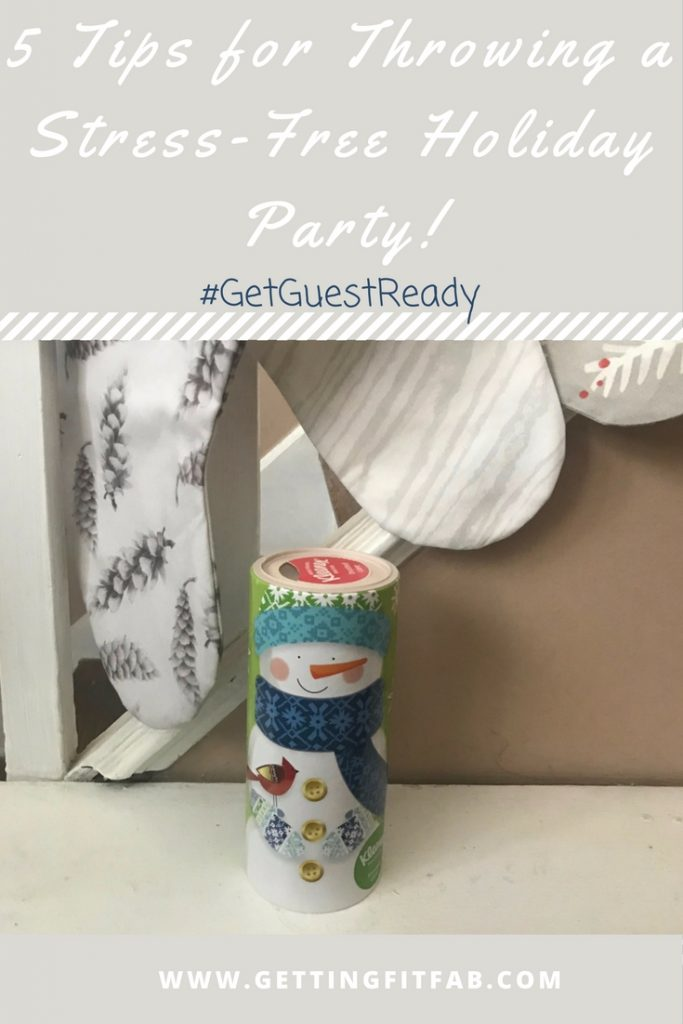#AD| Alright, we're in the thick of it! Are you stressing yet? Check out my 5 tips for throwing a stress-free party! #GetGuestReady