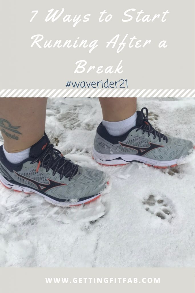 #AD || 7 Ways to Start Running After a Break #waverider21. Need to get back into running? I'm sharing 7 ways I start running again after a long break! check it out on my blog!