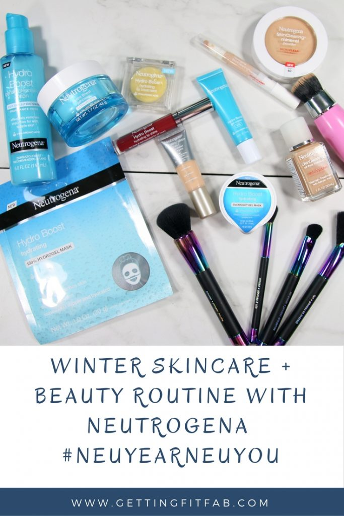 #AD| Has the Winter been wrecking havoc on your skin? Me too! Luckily Neutrogena has a few products that have brought hydration back into my skin and I found a few more products to help with some of my acne. Check out my blog post + YouTube video! #NeuYearNeuYou