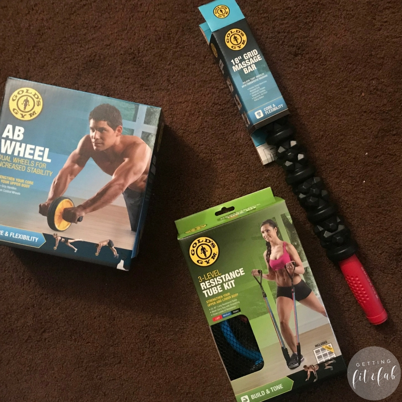 #ad| I'm sharing how to bring Gold's Gym into your home gym! I originally lost 70lbs in 2013, and I am sharing a few other products from @Walmart that can help you in the weight loss journey. #ResolutionsMadeEasy