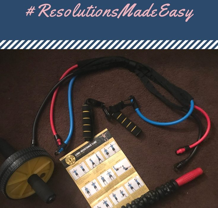 Bring Gold's Gym into Your Home! #ResolutionsMadeEasy