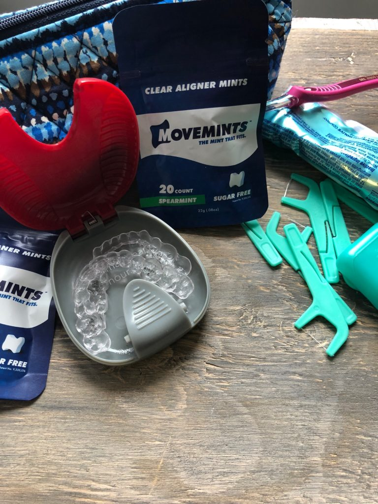 #ad Have you been thinking about getting Invisalign? I'm sharing 5 things I wish I knew before getting Invisalign. I'm sharing real things that helped and what I go through daily with having Invisalign. #MintThatFits #movemints