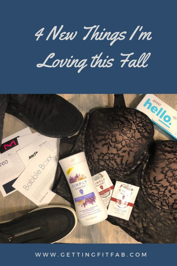 #ad| I'm sharing 4 New Things I'm Loving this Fall #OnTheBlog! Three things I'm taking on my next vacation with me, and 2 pairs of shoes! #TakeMakeBoxx