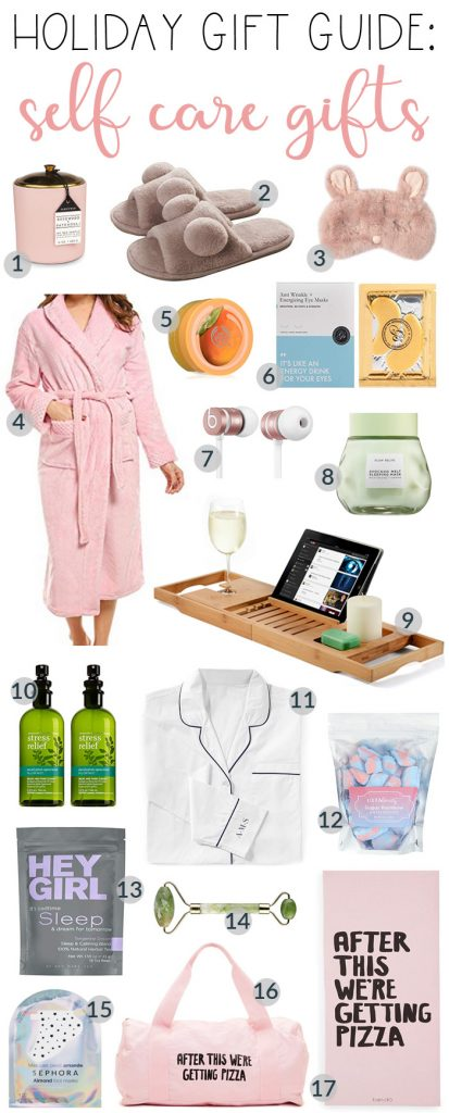 Holiday Gift Guide: Best Self Care Gifts. Everyone needs to take some time for themselves. It doesn't always mean a long time, just YOU time. #GFFHolidayGiftGuide