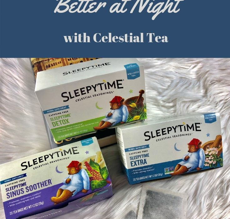#ad| I've struggled with going to falling asleep at night, whether it's a stressful day, busy week, or just so much on your plate. I've found a great tea that'll help! #LiveFlavorfully @CelestialSeasonings @CelestialTea