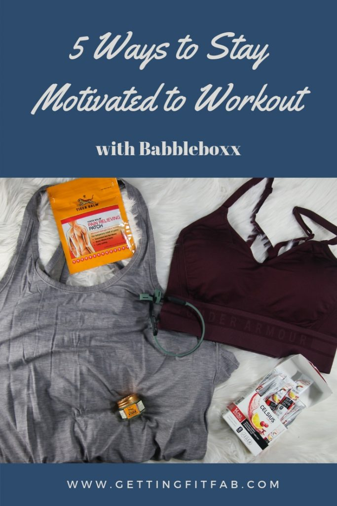 #ad| Staying motivated with working out isn't easy, well at least for me. I'm sharing 5 ways to stay motivated to workout! #ResolutionBboxx #IWorkOut