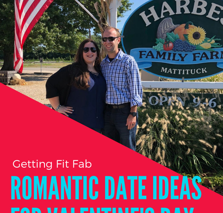 Valentine's Day is next week! I'm sharing 10 Romantic Date Ideas for Valentine's Day! From going out to your fave restaurant or ordering in! #VdayDateIdeas