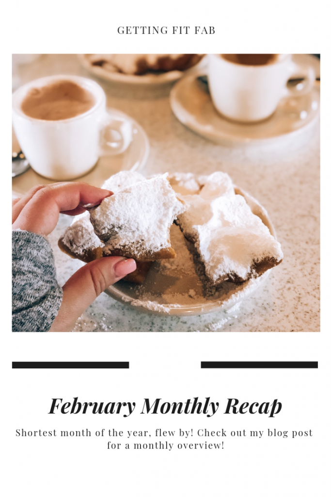 February flew by just like January did! March is going to be a whirlwind of adventure and lots of fun! #FebruaryRecap #MonthRecap