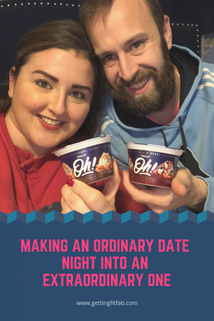#ad| Whether it's a date night in, or a quiet night to yourself to indulge in your favorite treat - turn it from ordinary to extraordinary. The New @Oikos Oh! Double Cream Yogurt is going to be your jam! #OhMGMoments