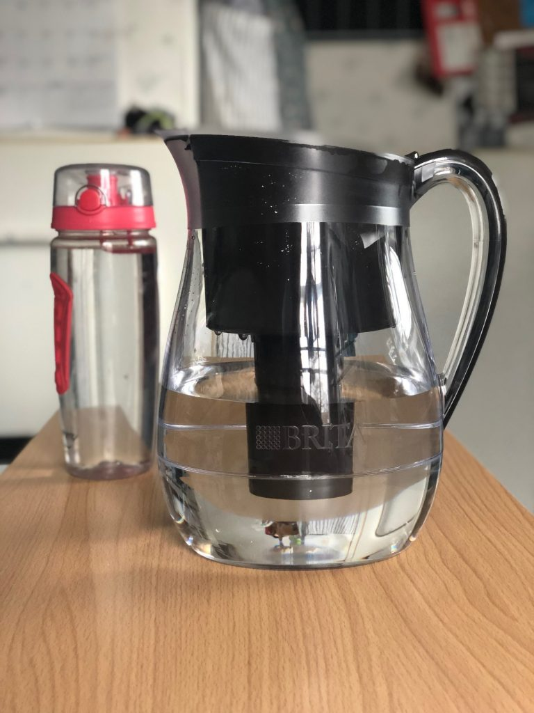 #ad One of my favorite ways to be better to the planet is using my @BritaUSA longlast filter pitcher! It replaces 1,800 single-use plastic bottles! How amazing is that!? #BetterWithBrita