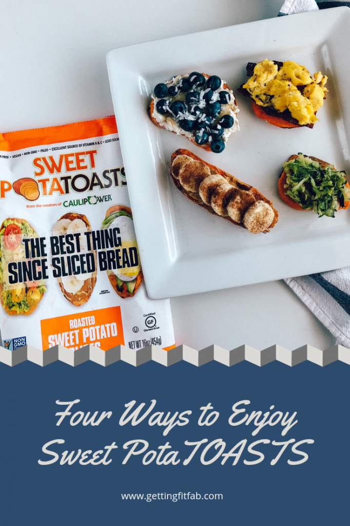#ad| I'm sharing on the blog four different ways to enjoy the Sweet PotaTOASTS from the makers of @caulipowered ! You'll find them in your local grocery freezer section & you just pop them in your toaster! #SweetPotaTOASTS ⁣ @sweetpotatoasts