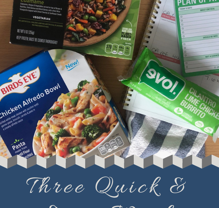 #ad| For when you're weekends are incredibly busy and you are trying to be conscious of your choices. These meals fuel me through a busy work day or weekend when I can't cook a meal before heading out. Let me know which meal you try first! @Healthy_Choice @EVOLfoods @birdseye #goodeats