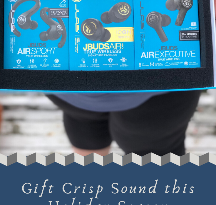 #ad Give the Gift of Sound this Holiday Season w/ JLab JBuds Air from @jlabaudio - the #1 True Wireless Earbuds under $100 @BestBuy! #findyourgo >>