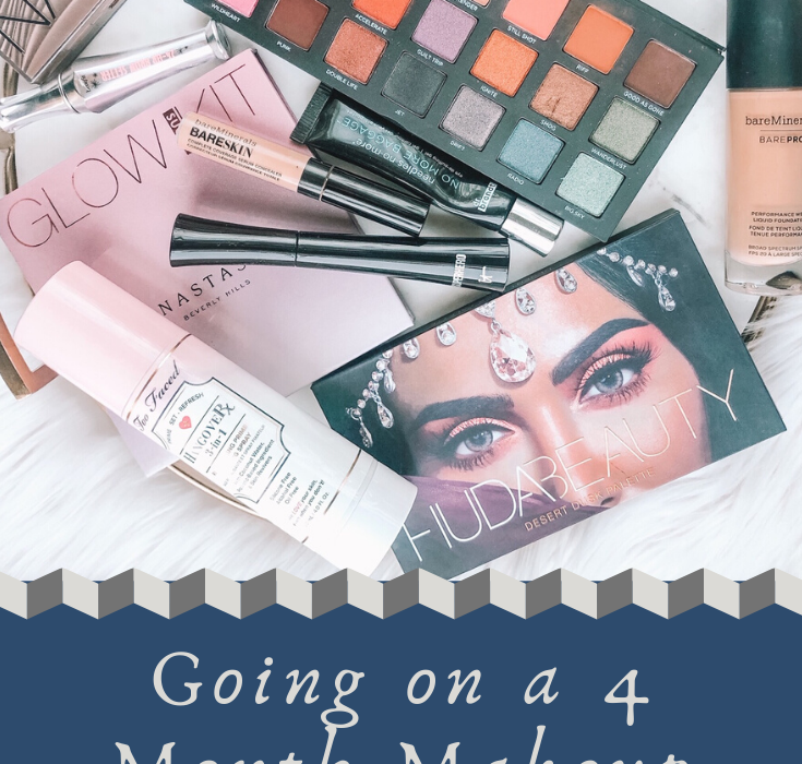 "New Year, NO BUY! An influencer ""influenced"" by a beauty blogger to go on a 4 month Makeup no buy! Check it out!"