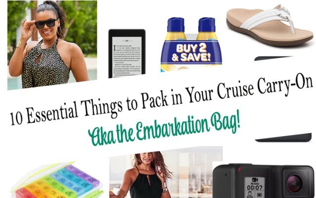 10 Essential Things to Pack in Your Cruise Carry-On