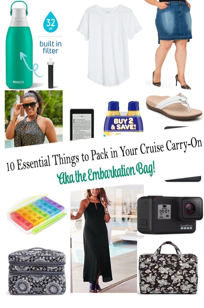 Six cruises later I finally got the cruise carry on bag down to a science! It's a short list because you don't need much, check it out! #TravelBlogger
