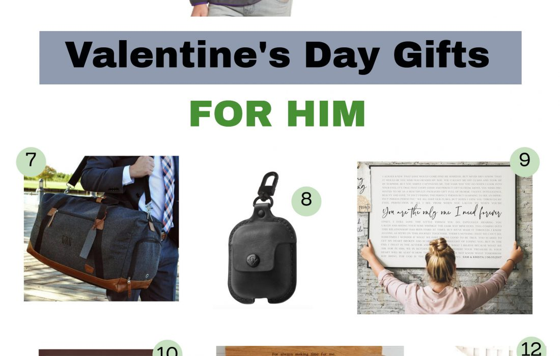 Not sure what your S/O wants for Valentine's Day? Check out my unique gift list on my blog! This list has great ideas that'll be a perfect gift for him! #ValentinesDay