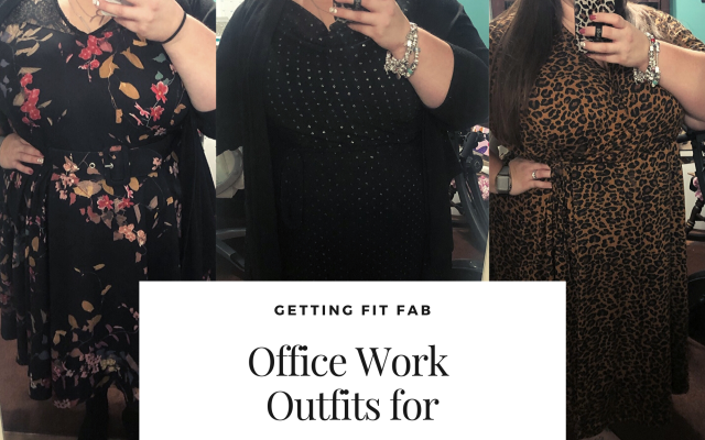 Office Work Outfits for the Week of 2/17-2/21