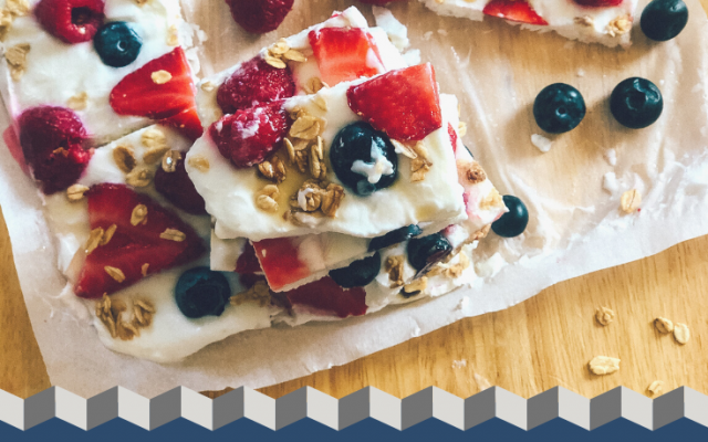 Healthy Frozen Yogurt Bark Recipe