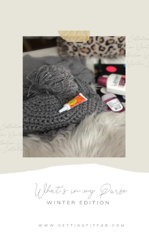 ad What are the few things you always need in your purse for the winter time? I'll go first, gloves, tissues and Campho Phenique to help treat cold sores that always come in winter time for me. Check out my blog post for the other must haves in my winter purse! Use as directed. #CamphoReliefBBxx
